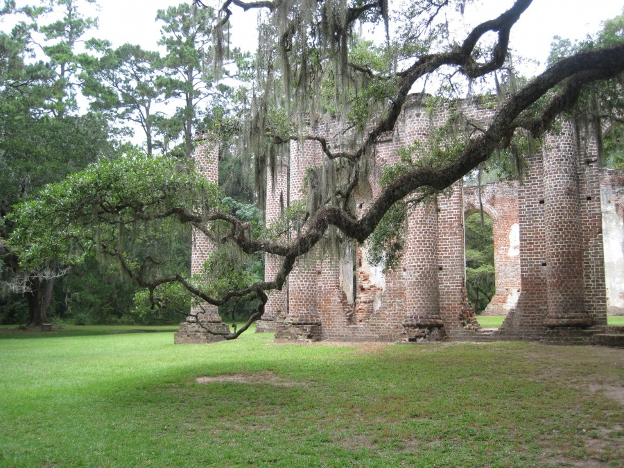 The Old Sheldon Church Ruins - Beaufort County, South Carolina
