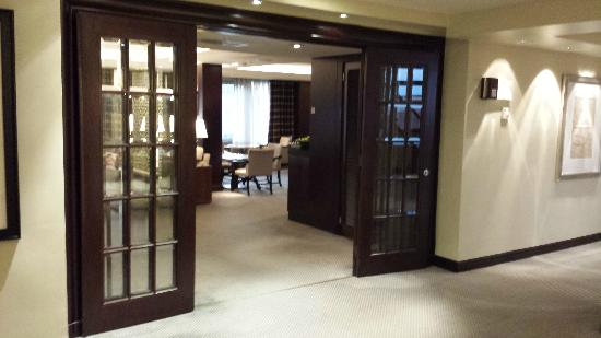 Hyatt Club Room Entrance