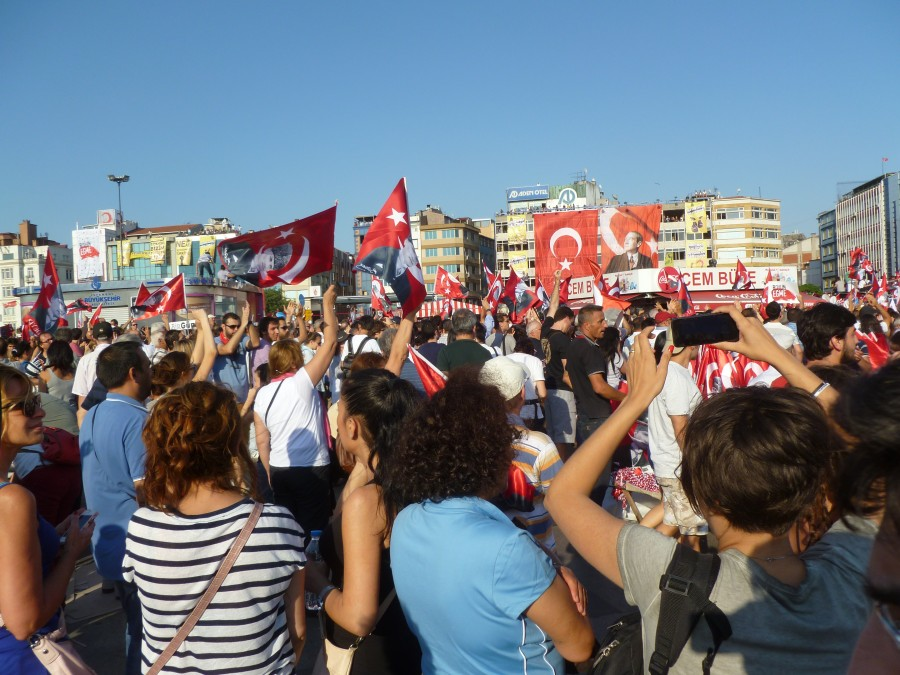 Demonstration Day in Kadıköy