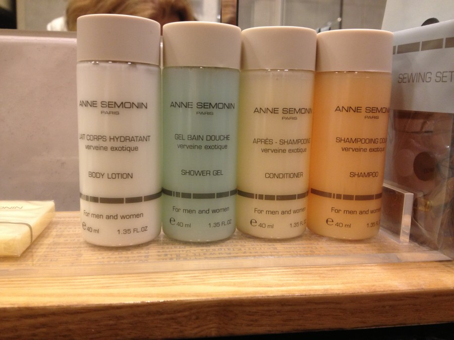 Anne Sémonin Bath Amenities