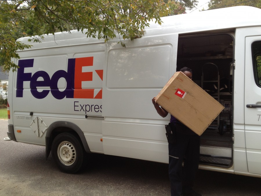 Austrian FedEx Delivery