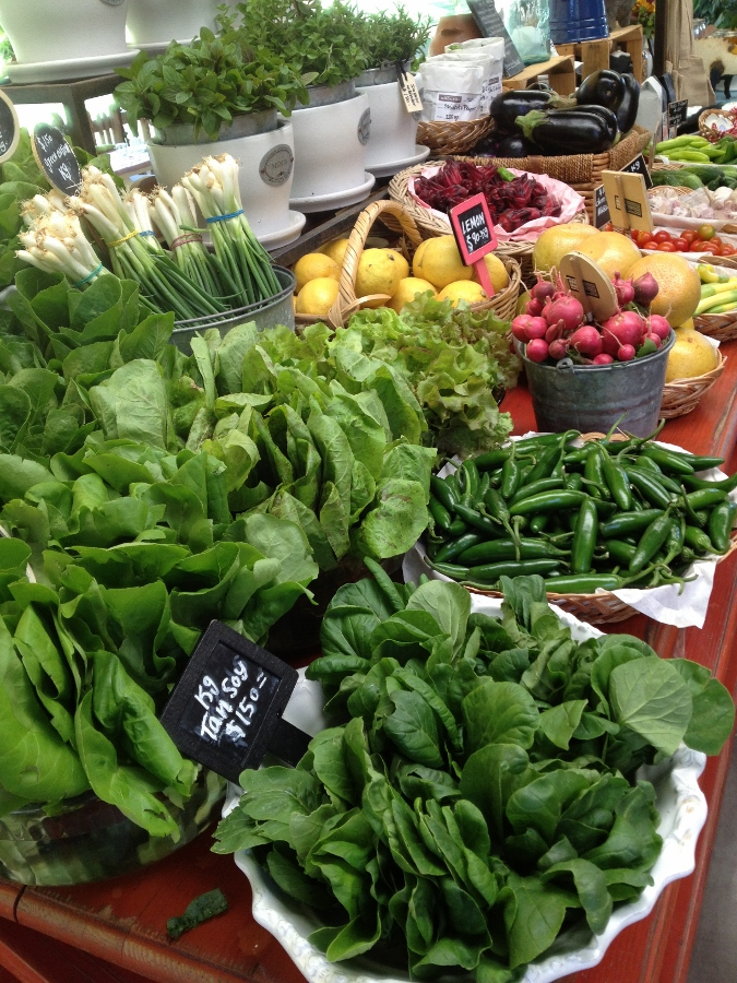 Fresh Vegetables in the Farm Store - Flora Farms