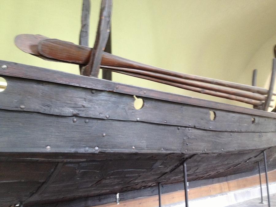 Oars on the Oseberg Viking Shi