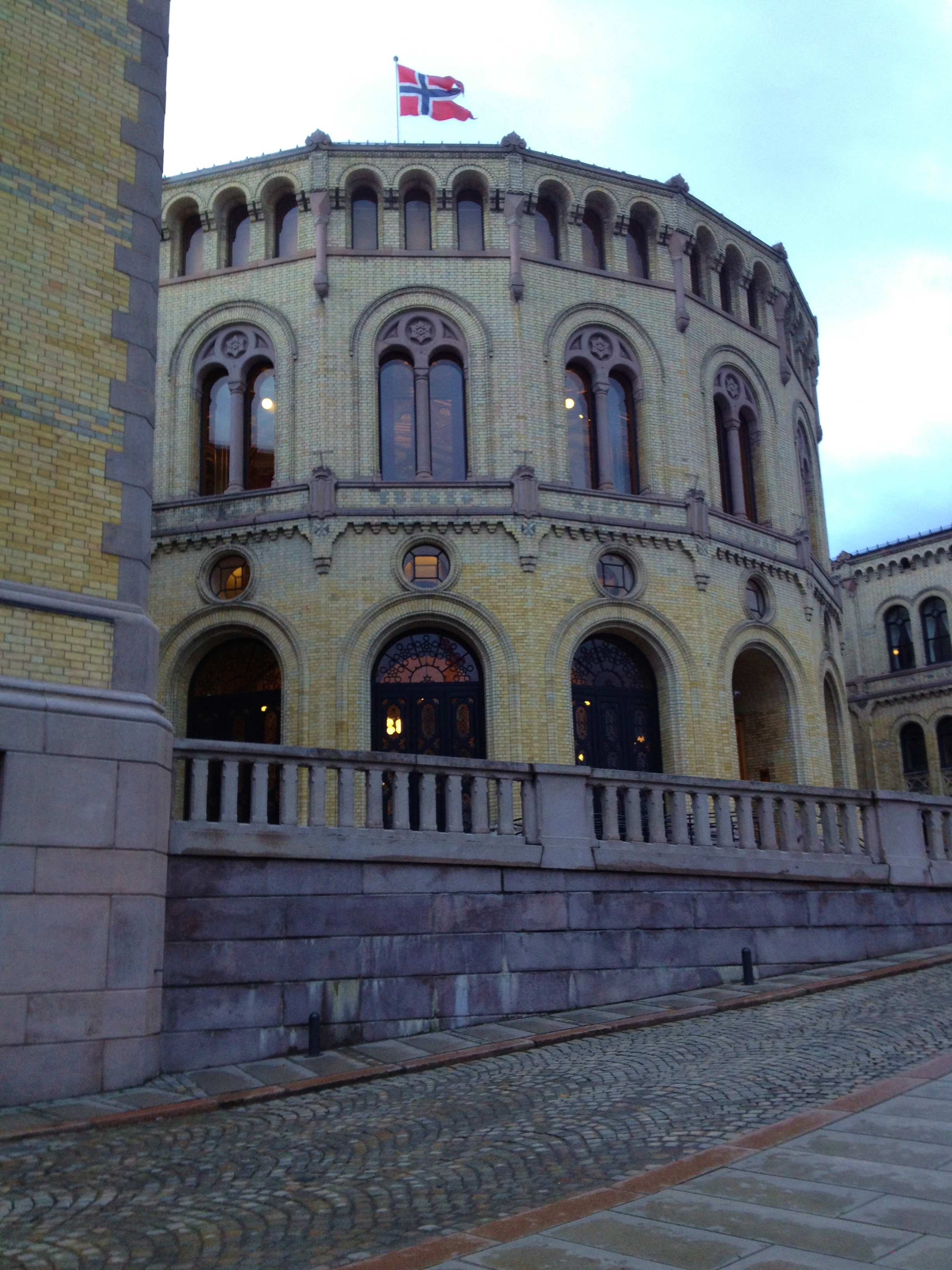 The Stortinget - Supreme Parliament of Norway - Johans Gate