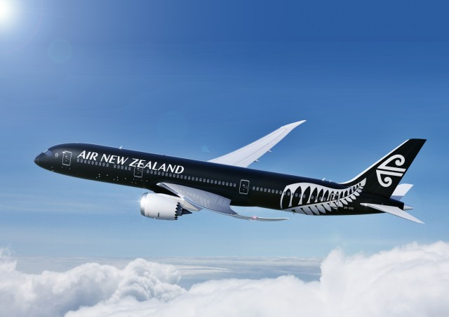 AirNew Zealand Black Livery