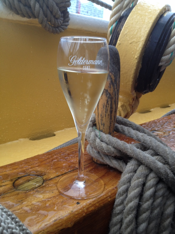 Prosecco on the Morgenster