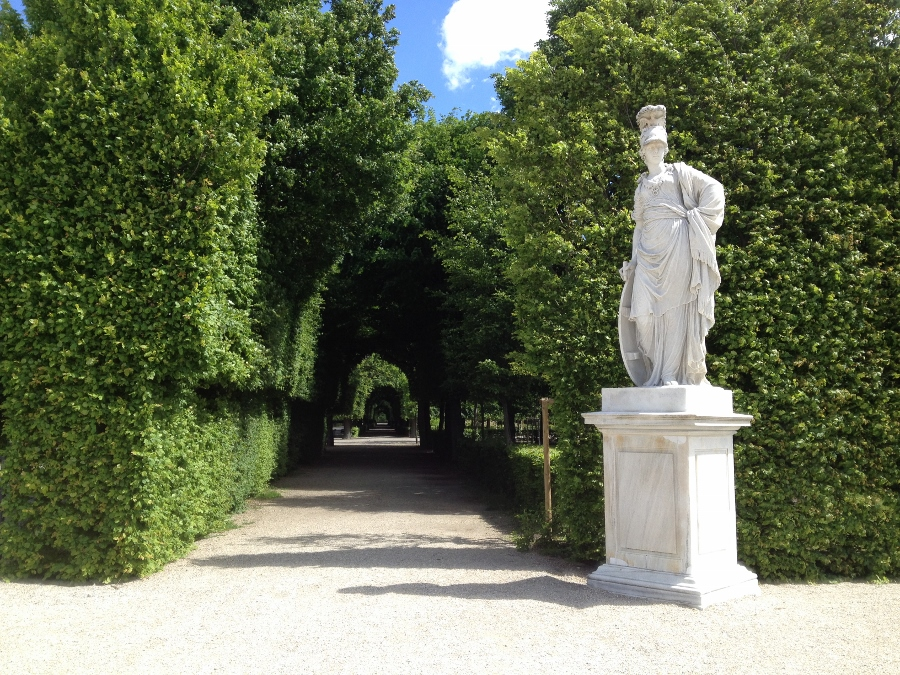 Schönbrunn Palace - Entrance to Labyrinth Gardens