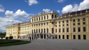 Schonbrunn Palace - Rear View