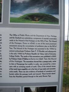 Hill of Tara - Mound Conservation