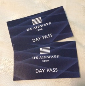 US Airways Club Day Passes