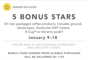 Starbucks Coffee Promo
