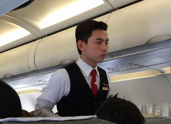 Vietnam Airlines Flight Attendant