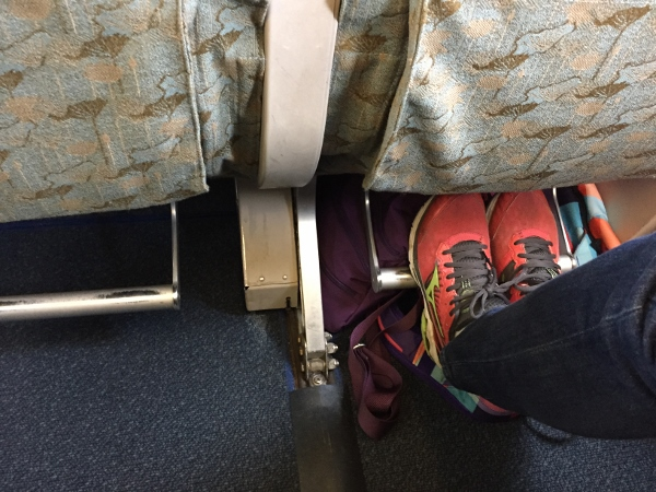 Footrest on Angkor Cambodia Aircraft