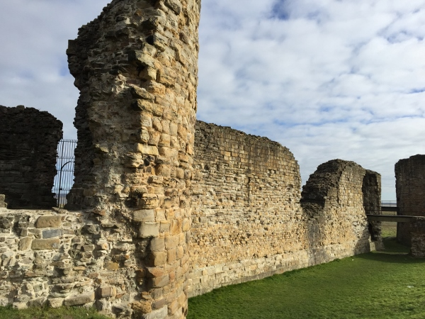 Curtain Wall - Flint Castle