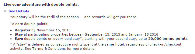 Marriott Mega Bonus 2