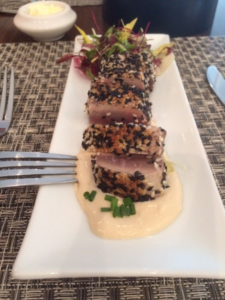 Seared Tuna - Concorde Room