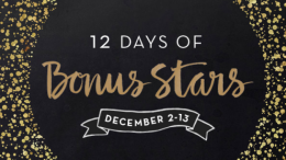 Starbucks 12 Days of Bonus Stars 2015