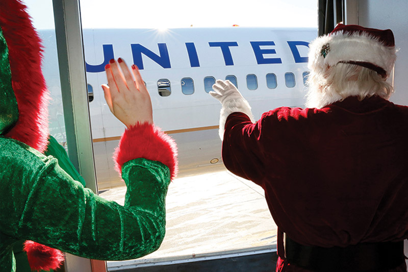 Fantasy North Pole Flight United