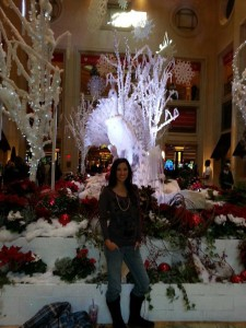 The Venetian during the holidays
