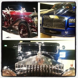 Classic and Newer Rolls-Royce cars