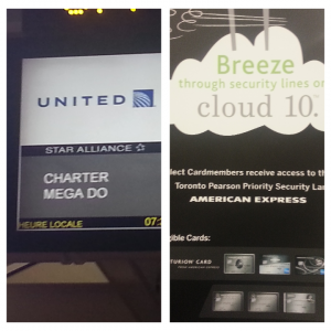 United Chartered Flight
