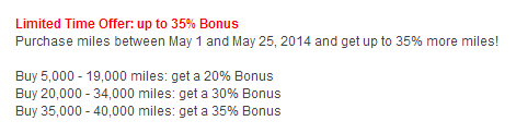 Alaska Points Promotion