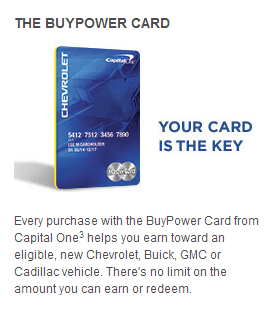 Capital One Buypower >> MS Your Way to a New Car?! - Giddy For Points