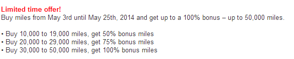 US Airways Bonus