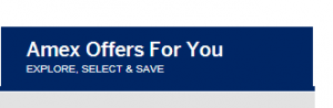 amex offers for you