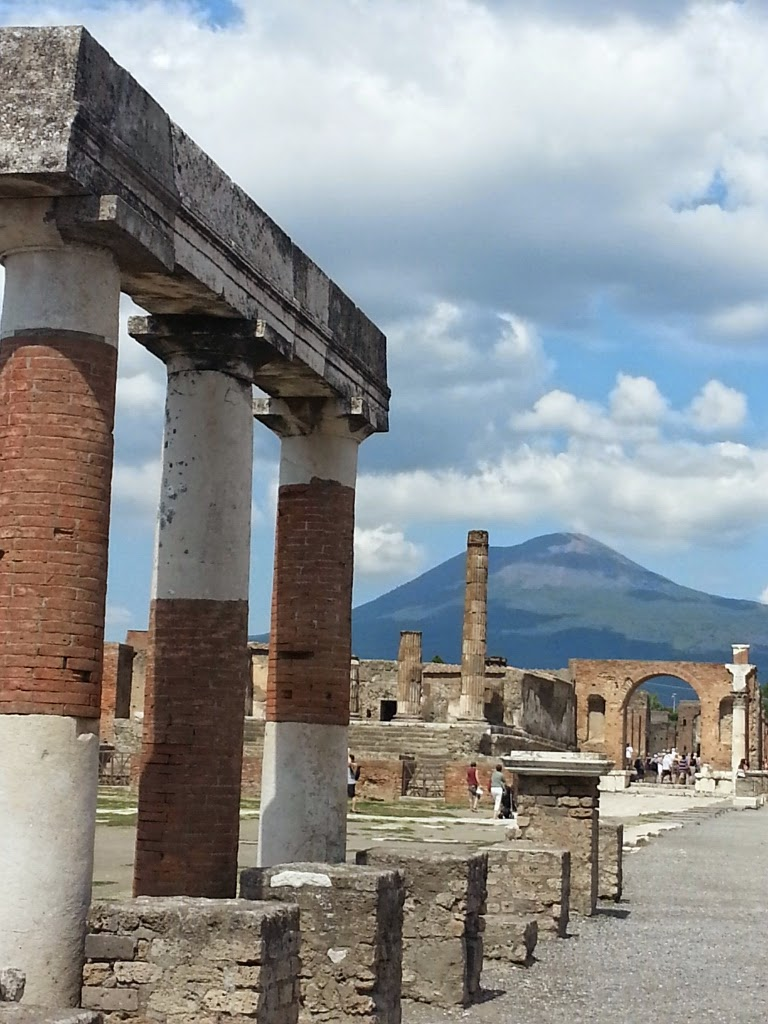Pompeii with Mt. Vesuvius