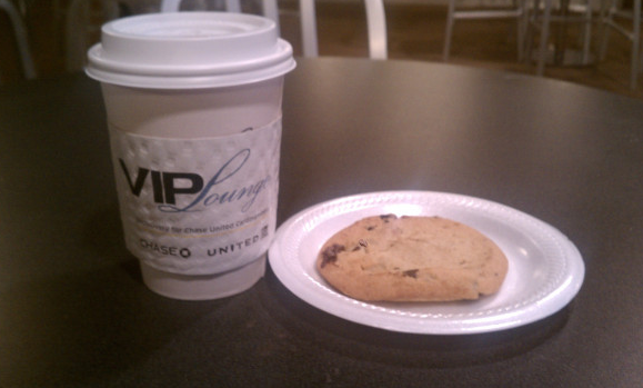 chase vip lounge cookie