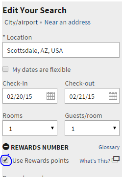 marriott dummy reservation