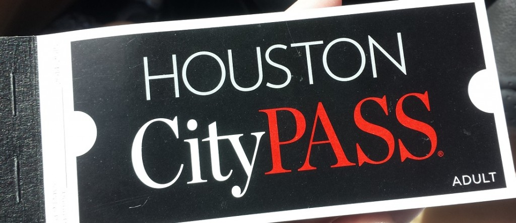 Houston Citypass Booklet