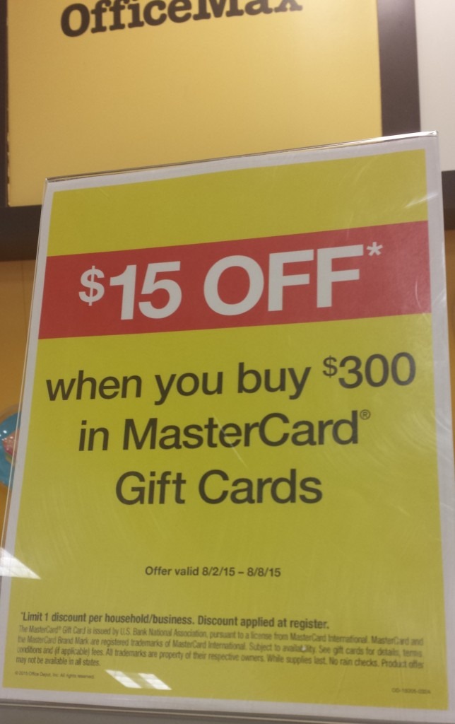 Office Max Deal