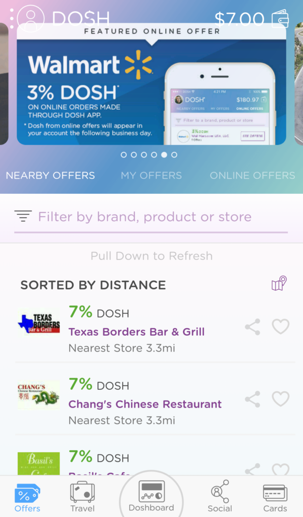 Dosh restaurants