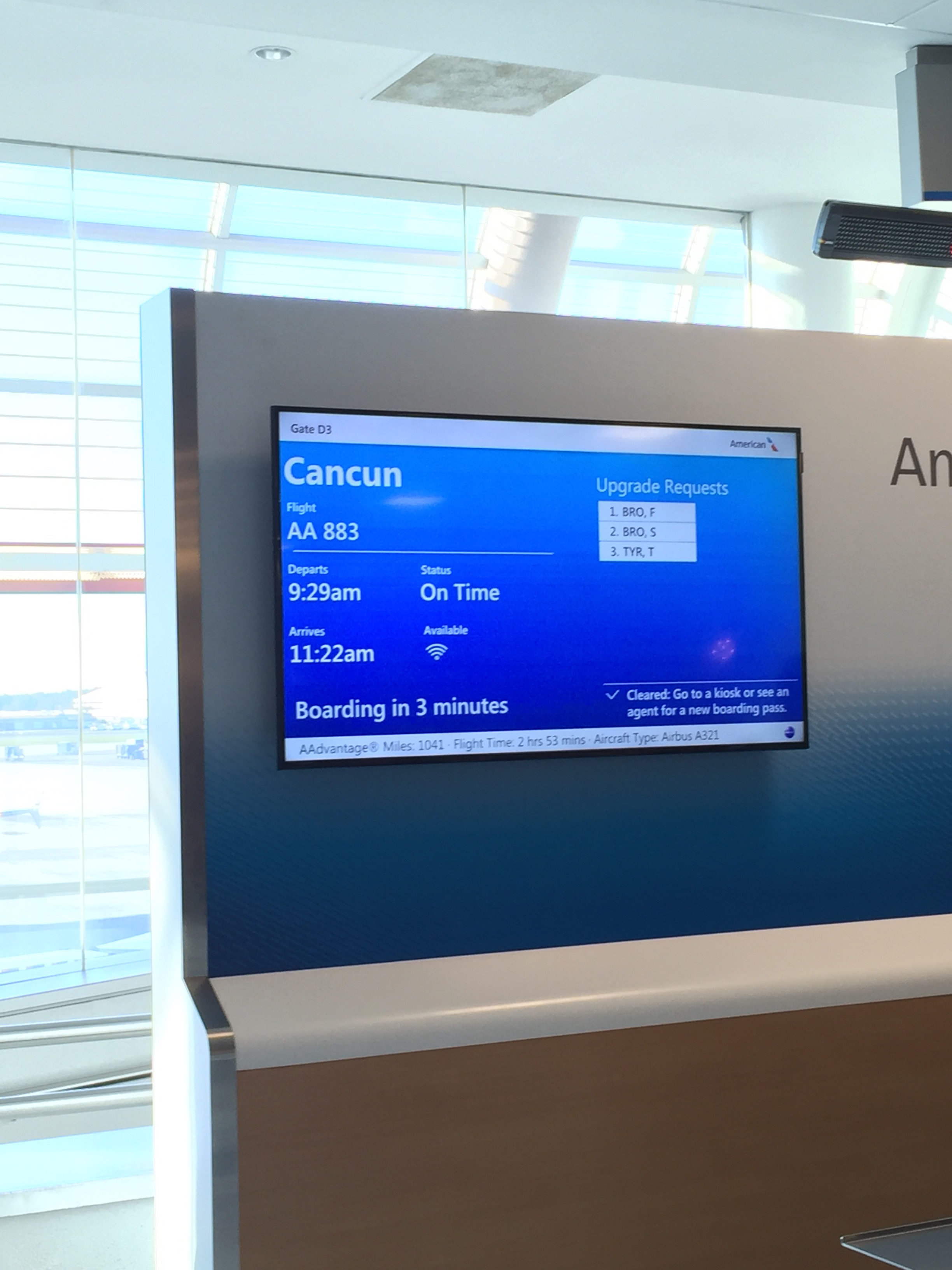 Cancun Trip Report American Airlines Charlotte To