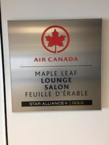 Air Canada Maple Leaf Lounge LaGuardia