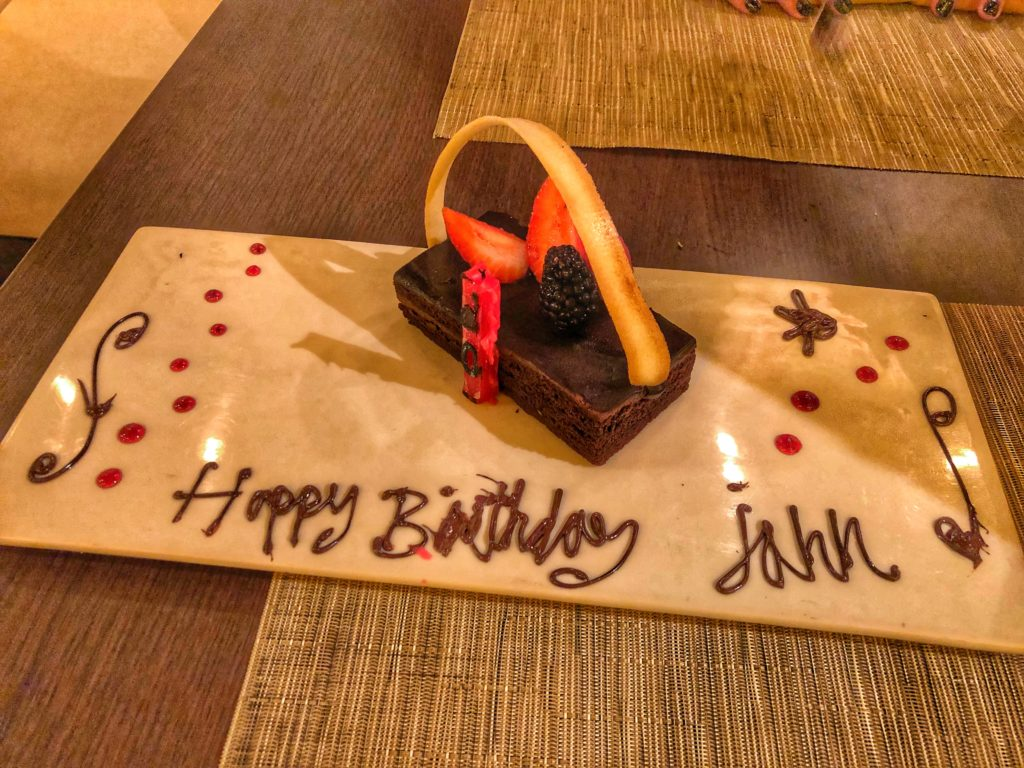 Villa del Palmar Dining Experiences Cancun Birthday Celebration Getaway