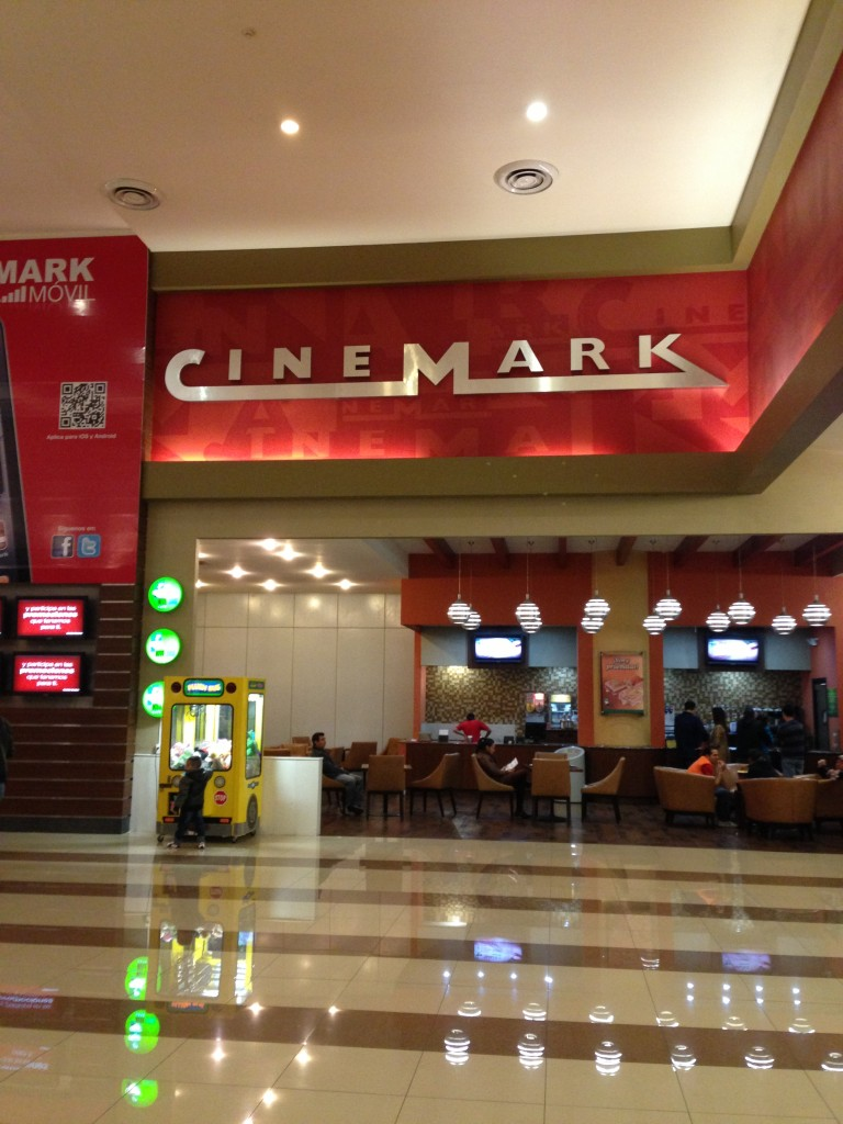 Cinemark movie theater in Reforma 222 Mall