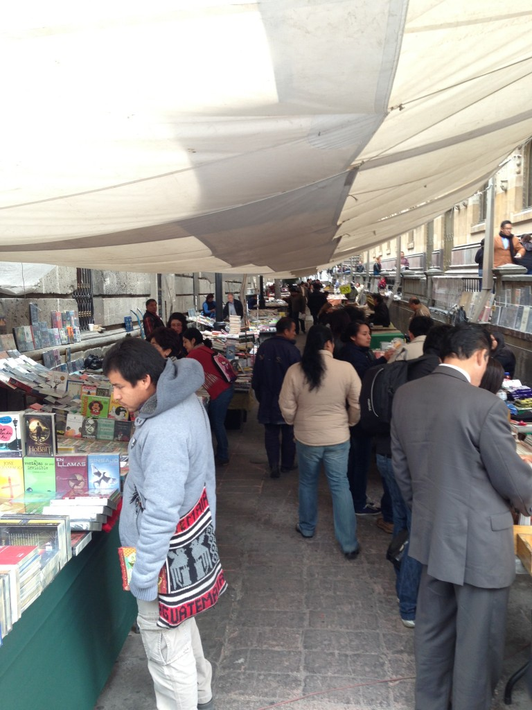Book Vendors in Centro Historico
