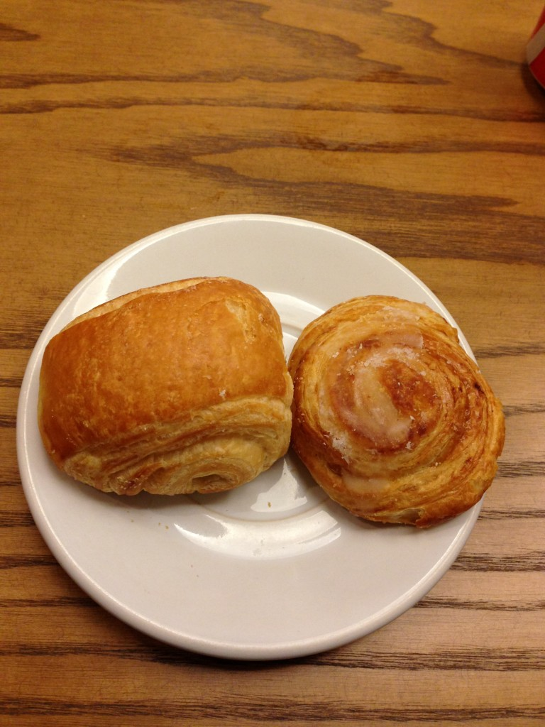 assorted pastries (complimentary)