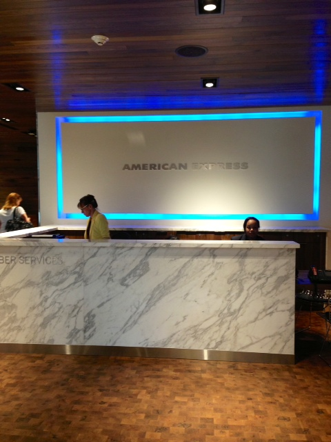 American Express Centurion Lounge Review At Las Vegas Airport Part 1