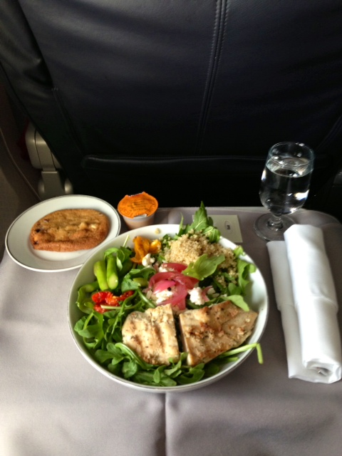 Reserving My First And Business Class Meals On American
