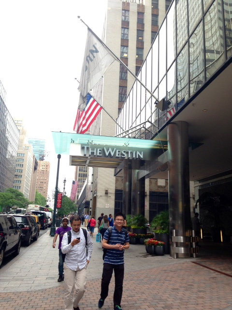 The Westin New York Grand Central Staff Was Eager To Help Me With My Bags And Lobby Very Ornate There S A Concierge Desk On Left Main