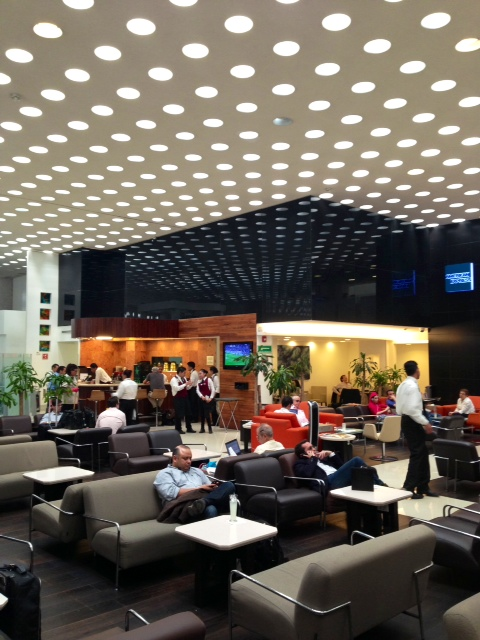 Mexico City Airport Centurion Club Lounge In Terminal 2