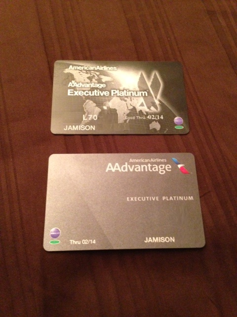 New Aadvantage Status Cards And Baggage Tags Apr 2013