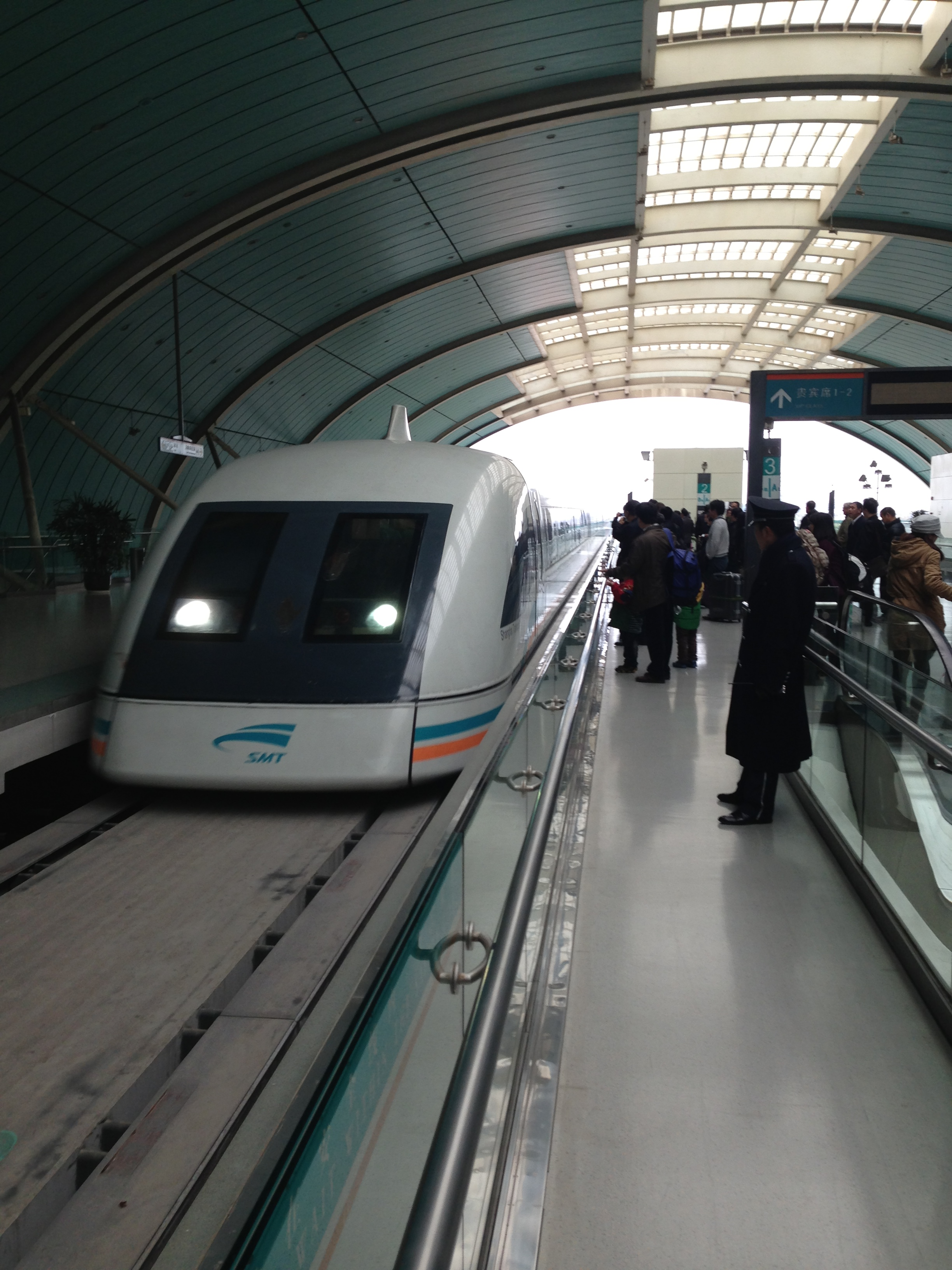 My Experience On The Shanghai Maglev Train Points Summary