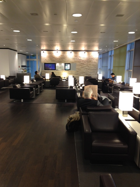 Geneva Airport Swiss Business Lounge Points Summary