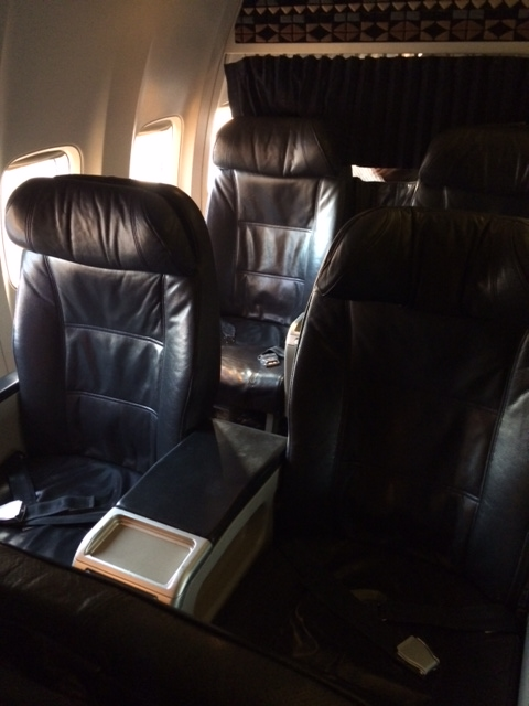 Alaska Airlines MEX-LAX 737-800 First Class - Points Summary