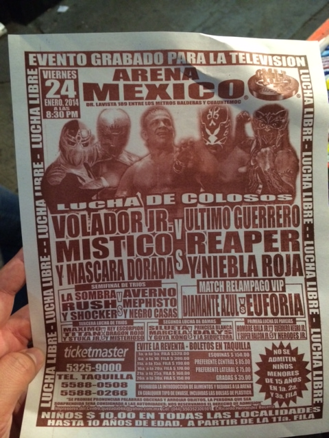 The Sights And Sounds Of Arena Mexico In Mexico City
